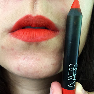 Nars – Red Square Swatch || Crappy Candle