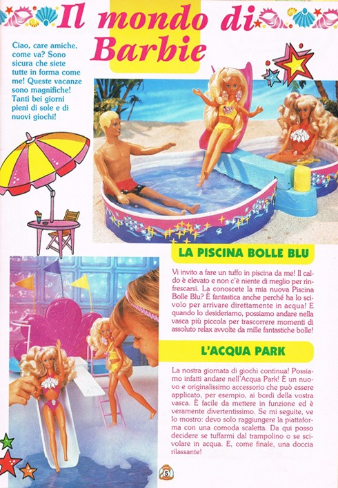 Kentozzi in una sola sfumatura di fucsia for Piscina di barbie