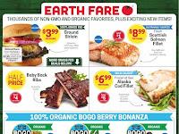 Earth Fare Weekly Deals April 24 - April 30, 2019