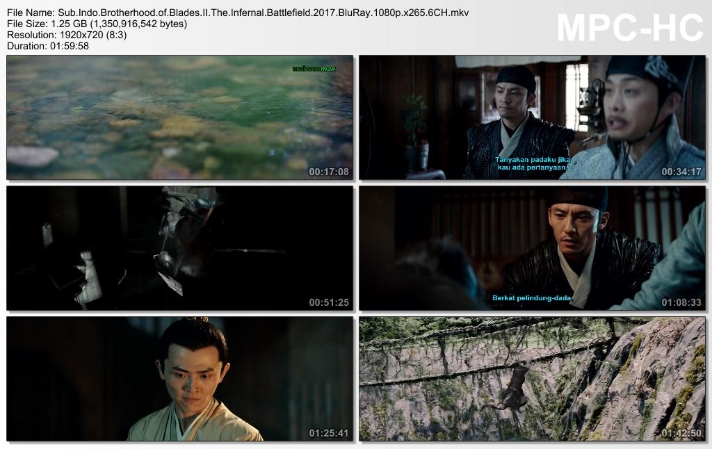 Screenshots Download Film Gratis xiu chun dao II: xiu luo zhan chang (2017) BluRay 1080p X265 HEVC 6CH Subtitle Indonesia MKV Nonton Film Gratis Free Full Movie Streaming