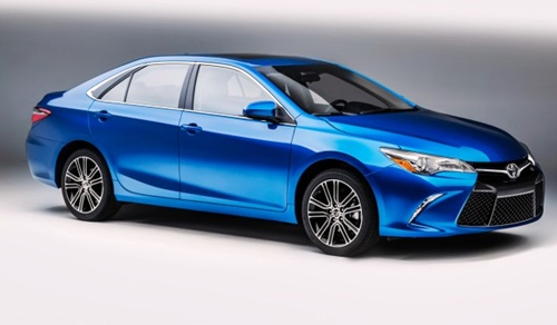 2016 Special Edition Camry Technology