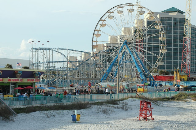Amusement Park for Family Time at Daytona Beach