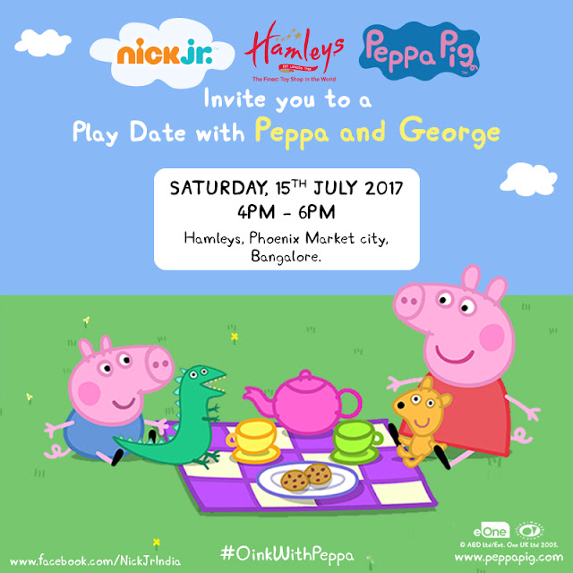 Pep up for the first ever Peppa Pig Party!