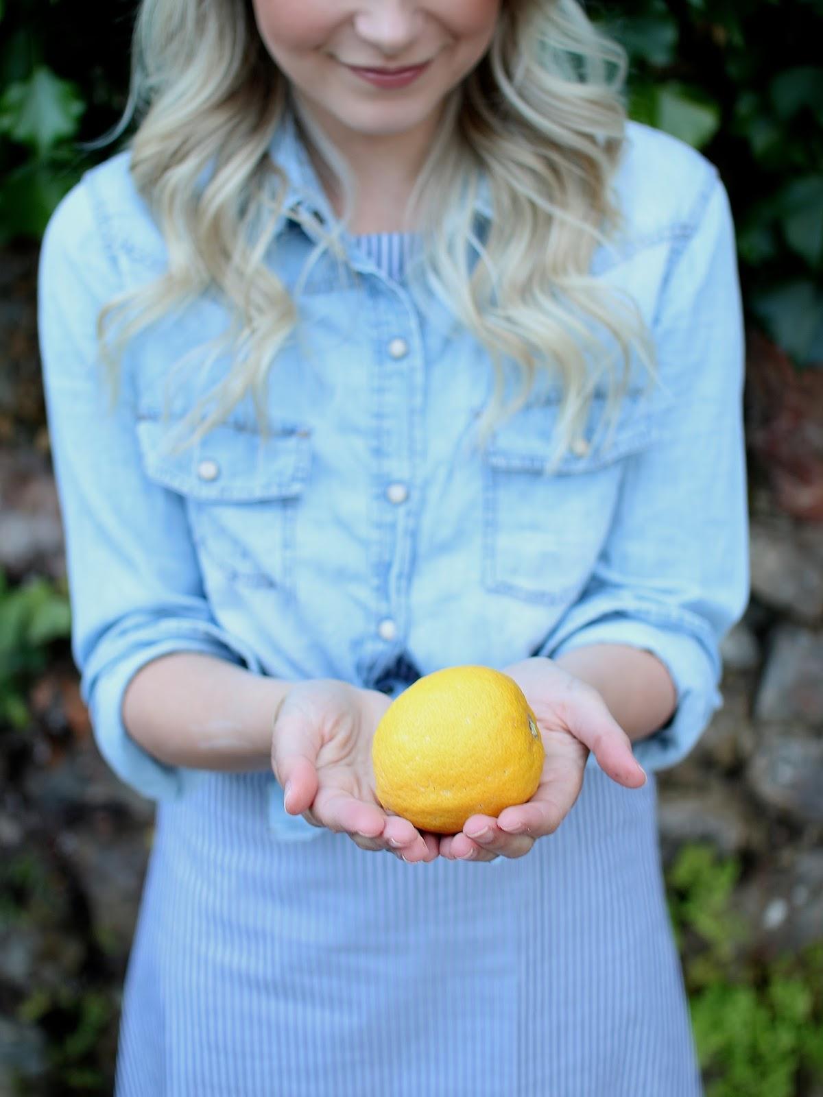 organic lemon trees
