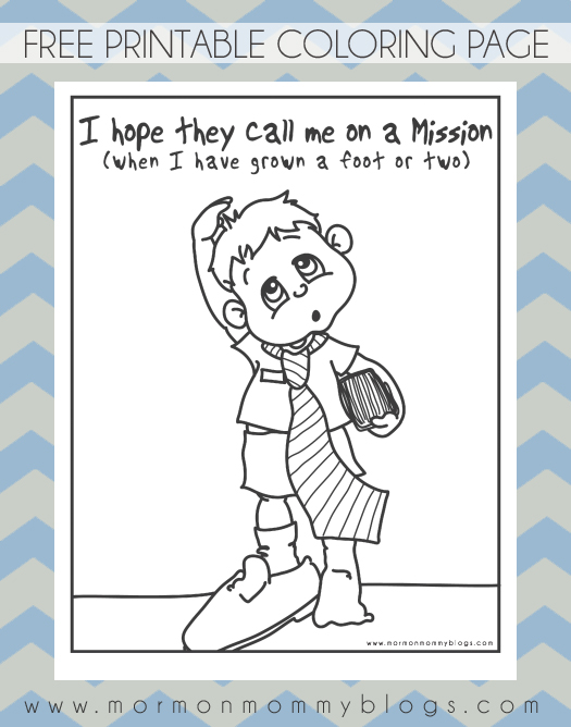missionaries coloring pages - photo#21