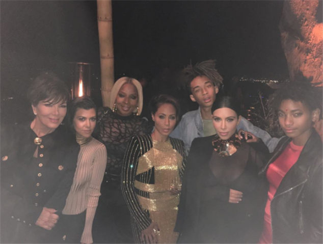 beautiful people for Olivier Rousteing's birthday!