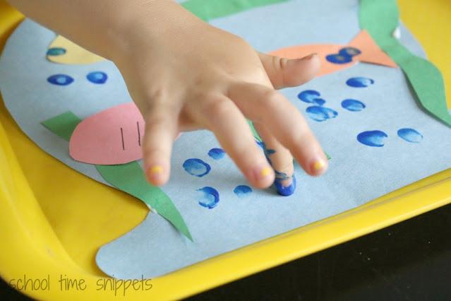 counting bubbles fingerprint activity