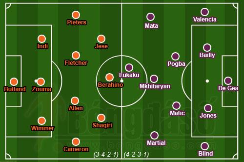 Stoke City - Man Utd: Cái hạn của M.U