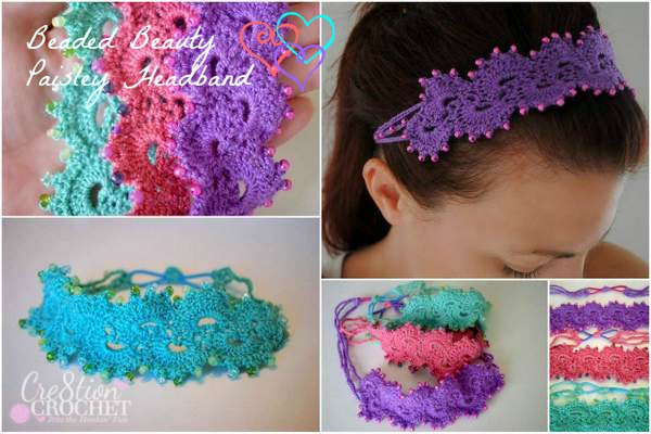 Fiber Flux: Beautiful Headbands! 16 Free Crochet Patterns
