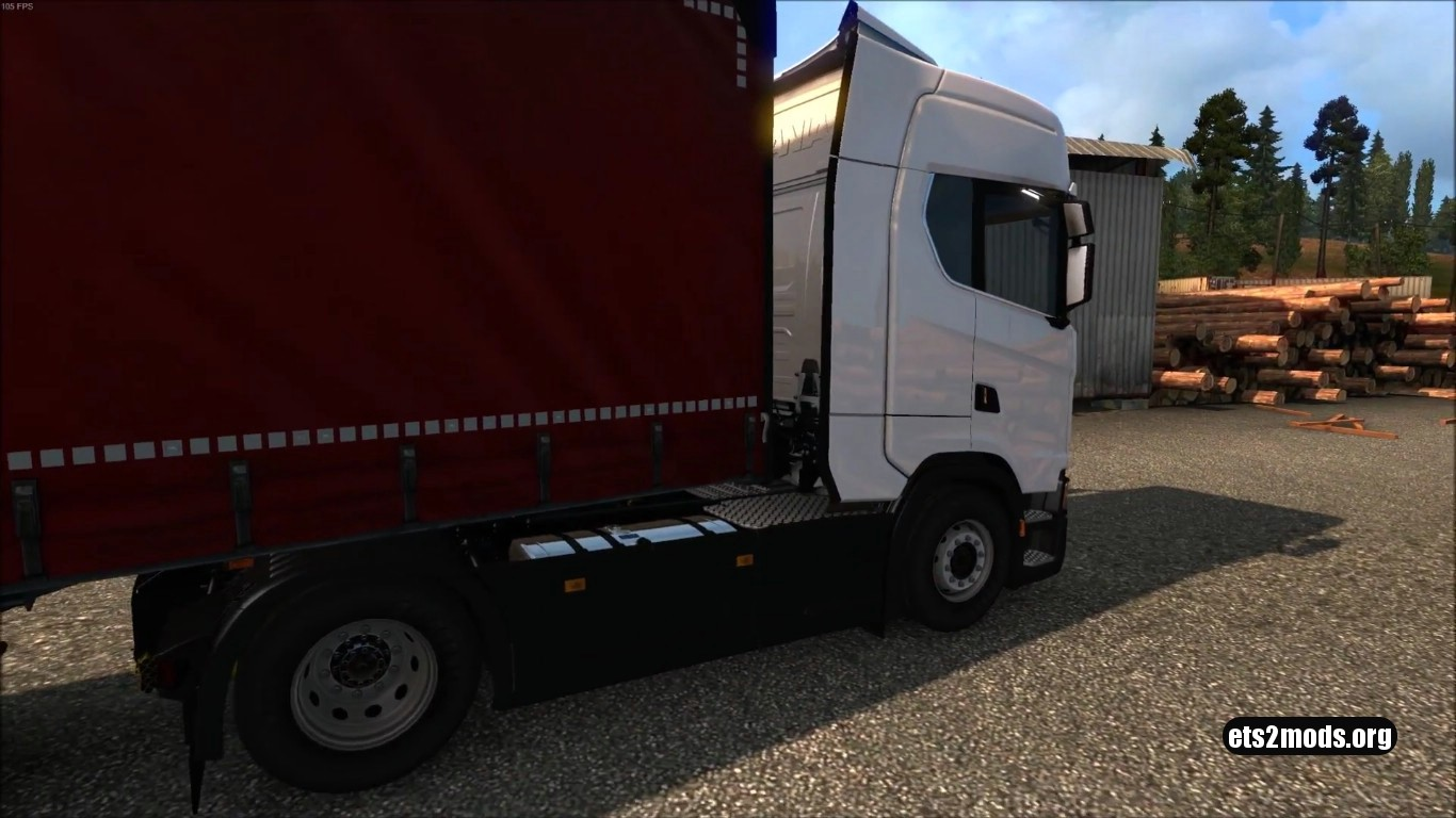 Standalone Wielton Red Trailer