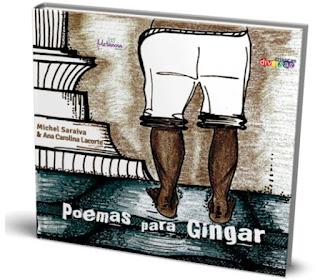 Capoeira, poesia e ilustração em um só livro para crianças e adultos