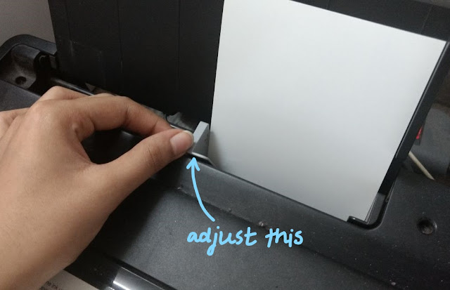 how to adjust printer for photo paper
