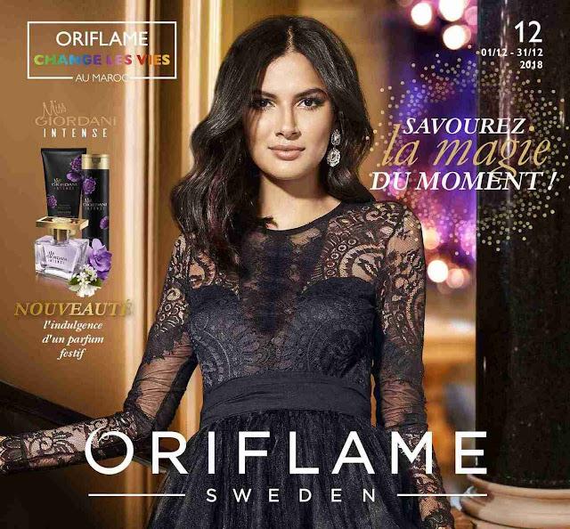 catalogue oriflame maroc decembre 2018