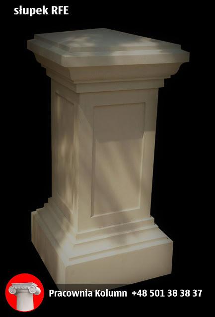 słupek balkonowy tarasowy balustradowy