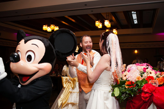 Disneyland Wedding - Mickey, Minnie, and Donald {Root Photography}