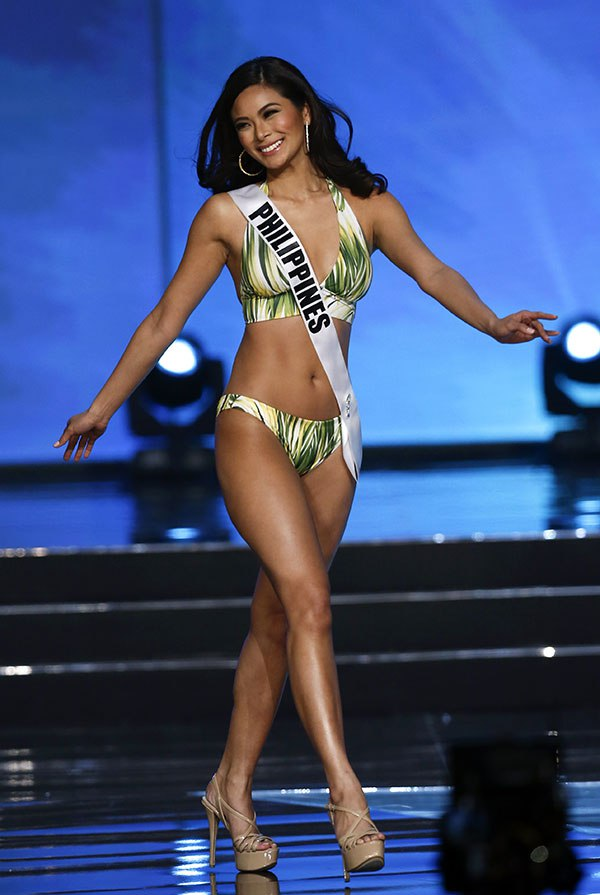 Miss Universe candidate Maxine Medina from the Philippines