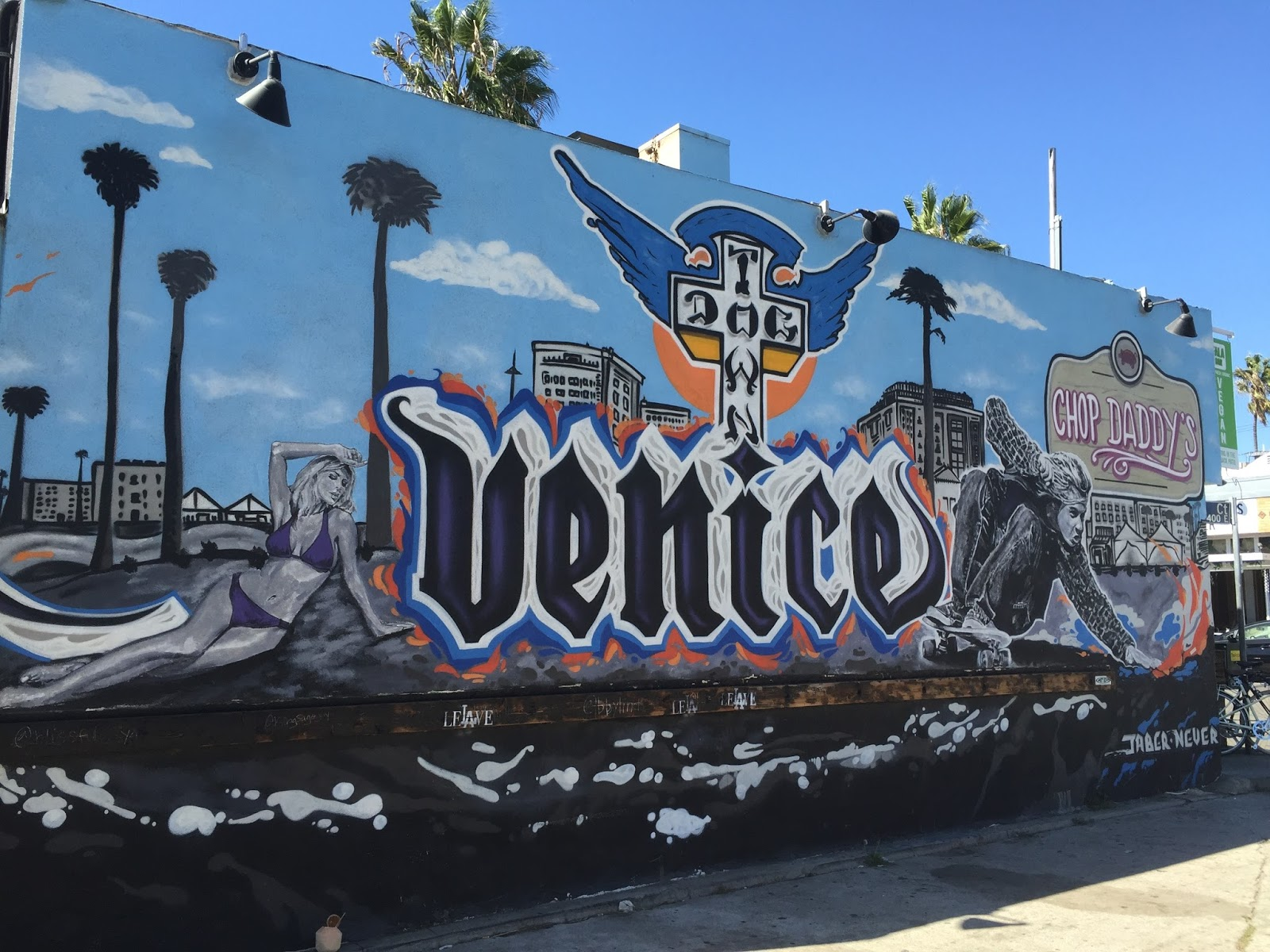 Frequent traveler ancestry murals in venice california for California mural