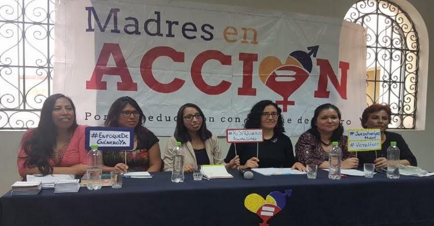 Enfoque de género permite igualdad entre hombres y mujeres, afirma colectivo Madres en Acción