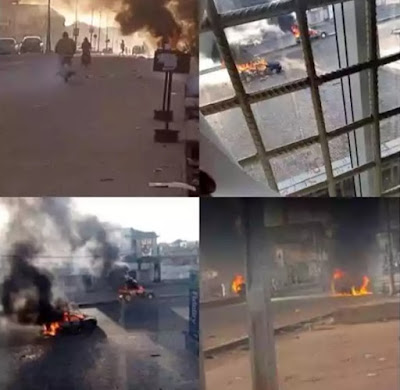 Muslim And Christian Youths Clashes At A Popular Market In Kaduna,  55 Dies , 24hrs Curfew Imposed