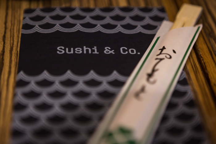 Sushi & Co ruokalista Silja Symphony puupuikot ruokapuikot sushipuikot