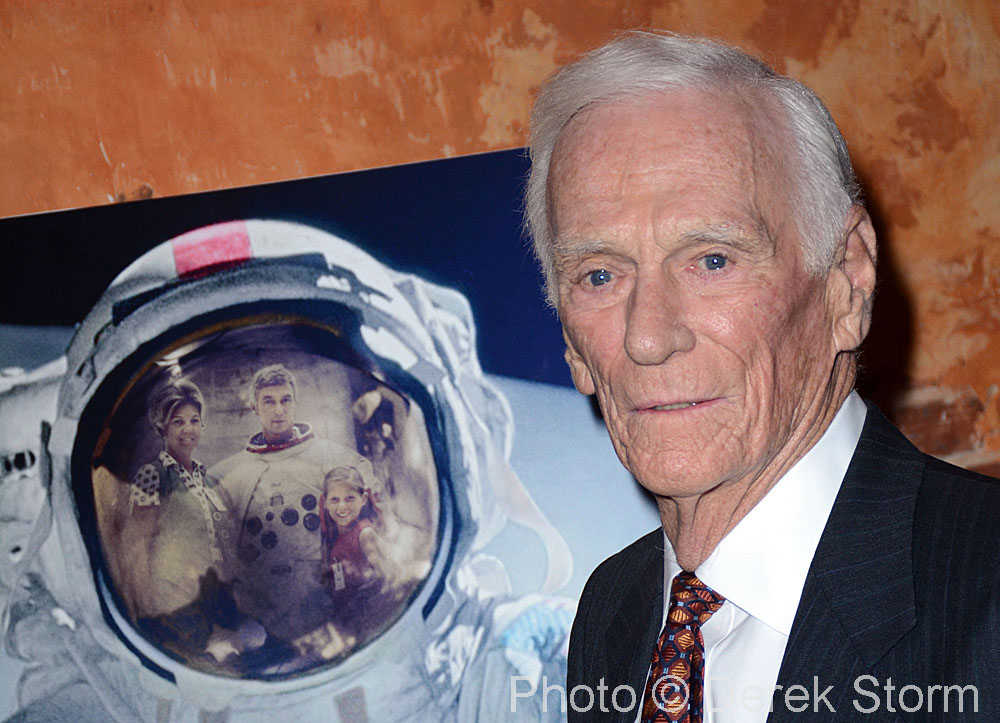 In the News: Apollo Astronaut Gene Cernan appears at a ...