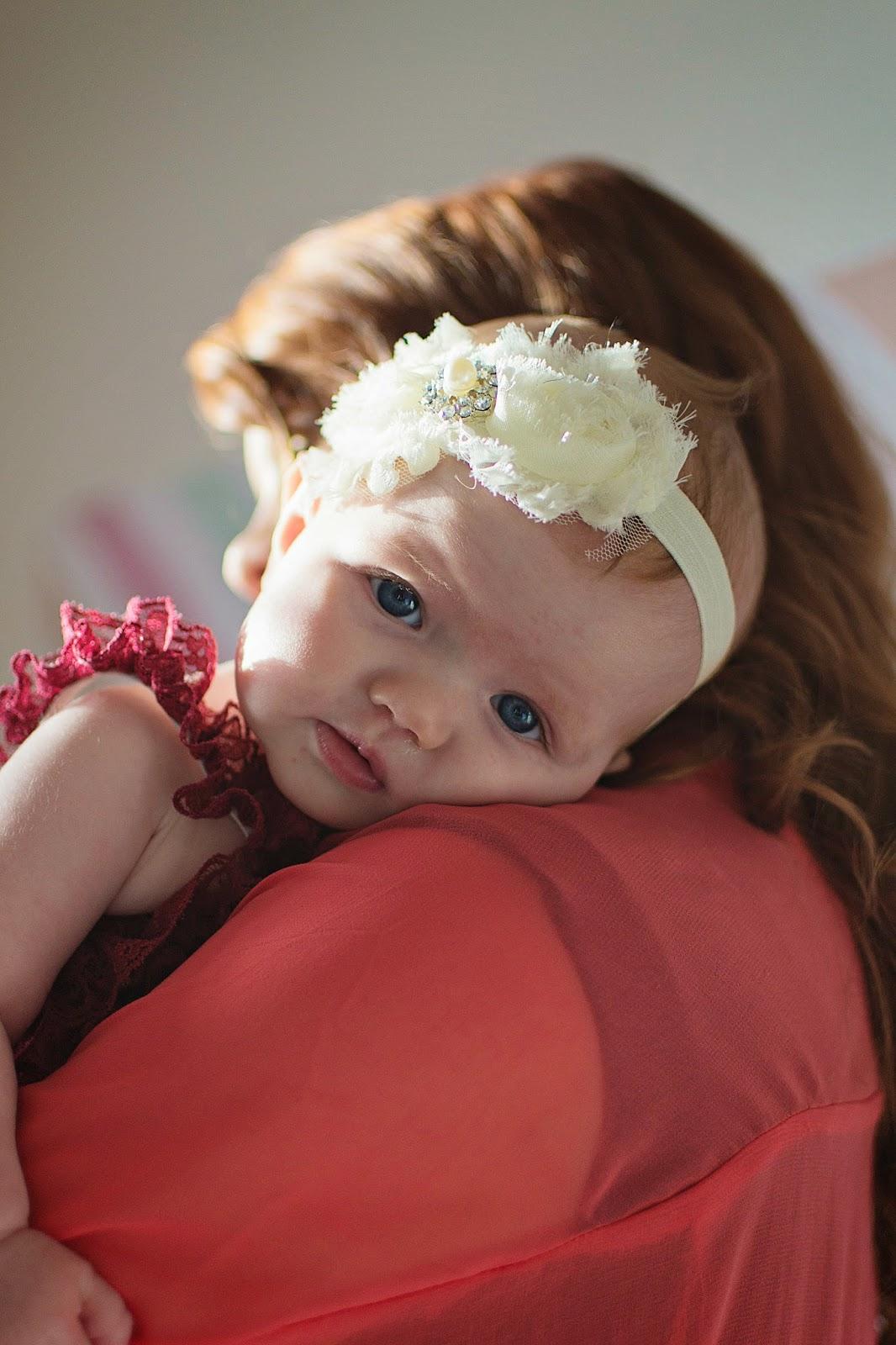 A lil ol' Georgia Peach: Seven Months Old