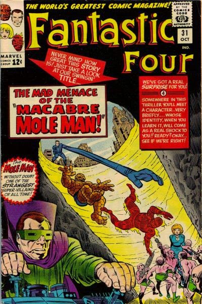 Fantastic Four #31, The Mole Man