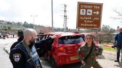 Ataque terrorista em Israel um morto e dois feridos