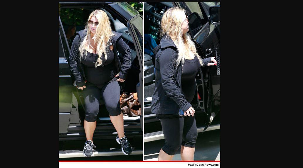 Jessica Simpson gorda