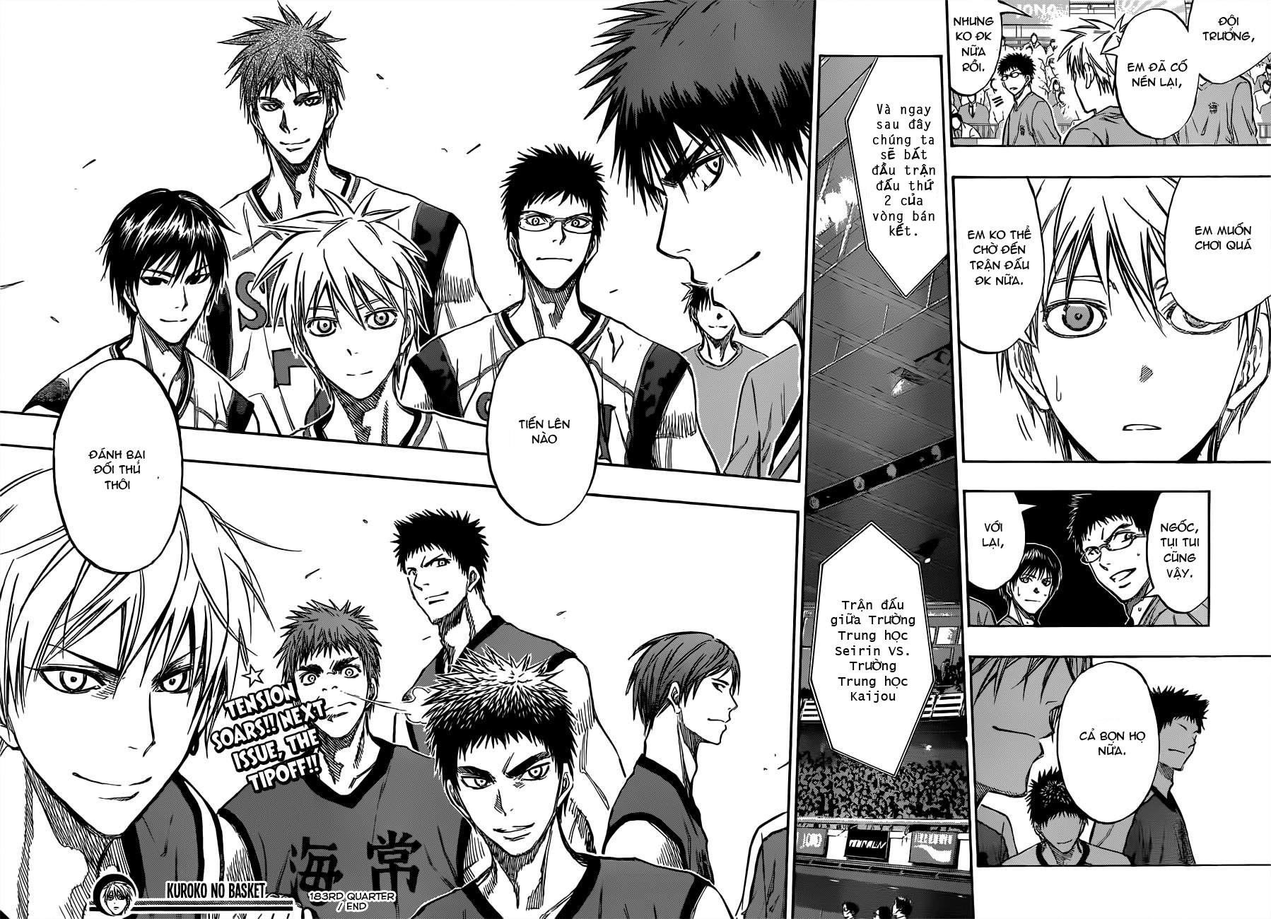 Kuroko No Basket chap 183 trang 17