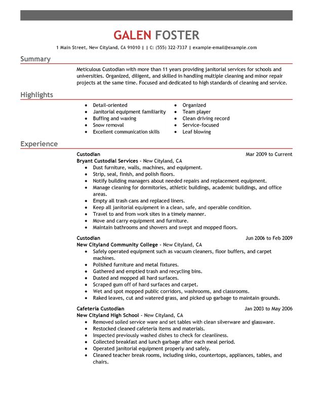 house cleaner resume - Elitaaisushi