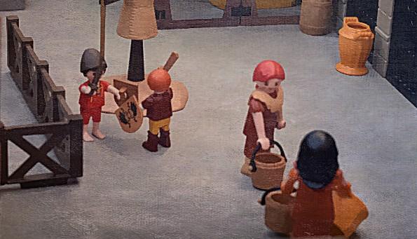 Playmobil custom school of gladiators
