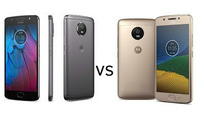 Moto G5S vs Moto G5