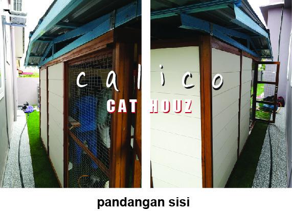 RUMAH KUCING: PRODUK - OUTDOOR CATS HOUSE