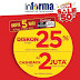 INFORMA Promo WOW SALE Diskon Up To 50%