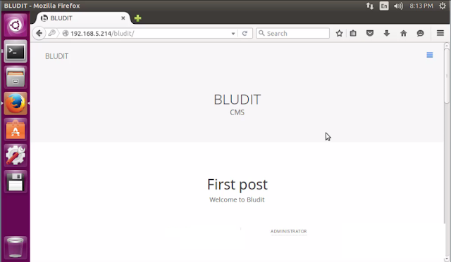 Como instalar o Bludit CMS no Ubuntu, Debian e derivados!