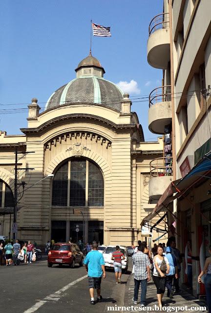 Муниципальный рынок Сан-Паулу