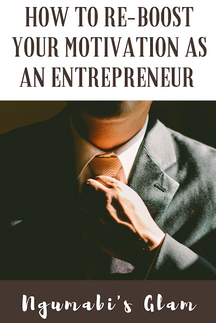 How to re-boost your Motivation as an Entrepreneur
