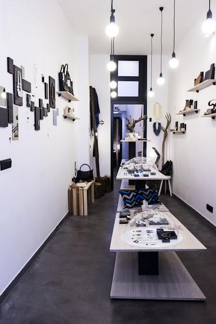 Intérieur de la boutique Bel'Arte