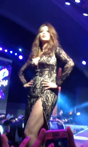 Angel Ramps The Runway Like A Supermodel!