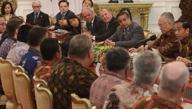 Dewan Bisnis AS-ASEAN temui Jokowi, Ini yang dibahas