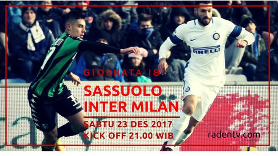Sassuolo vs Inter Milan