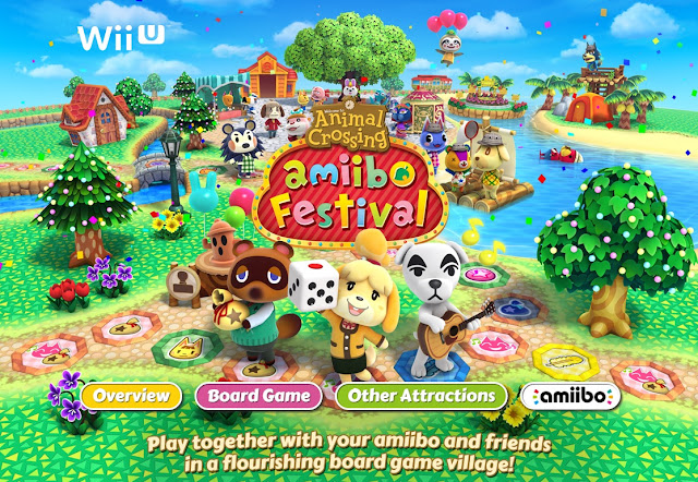 Animal Crossing amiibo Festival, Animal Crossing board game, Wii U party game