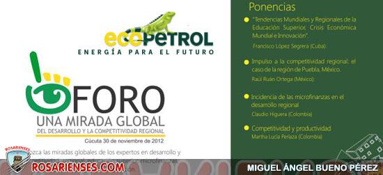 Una mirada global del Desarrollo y la Competitividad Regional, Fundescat Cúcuta | Rosarienses, Villa del Rosario