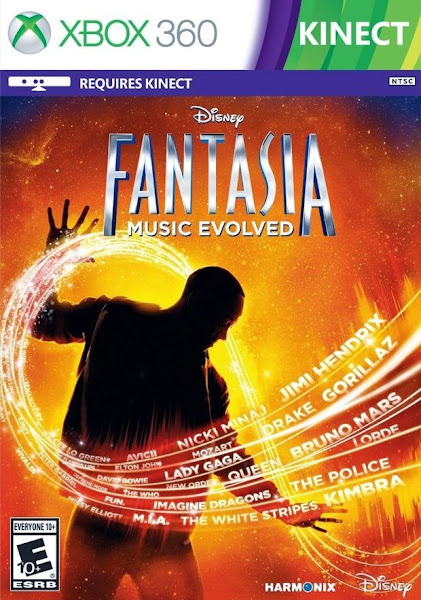 Disney Fantasia Music Evolved Xbox 360 Region Free
