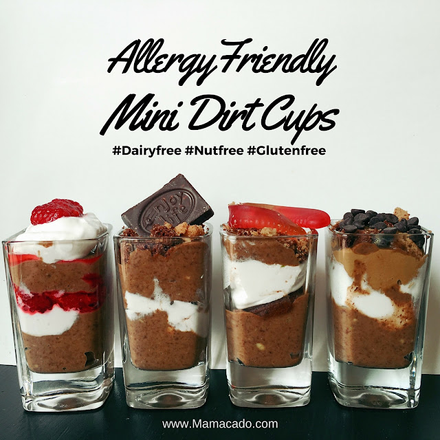 Dairy Free Dirt Cups