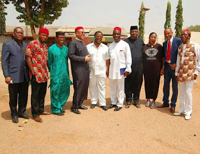 Delegation visits Nnamdi Kanu in prison