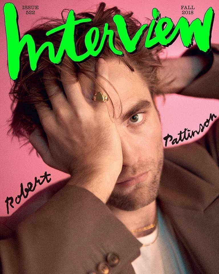Robert Pattinson for Interview Fall 2018
