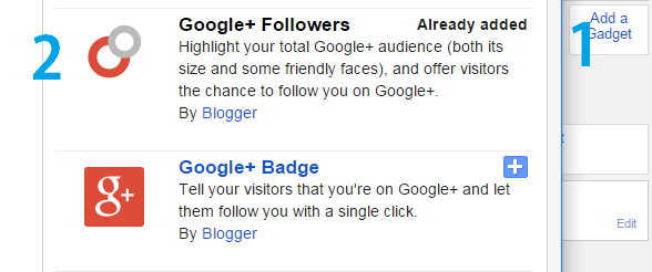 Increase Audience with Google+ Follower Widget