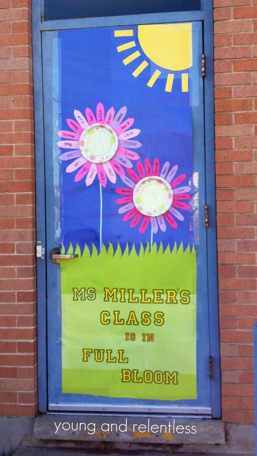 The Young and The Relentless: Teacher Appreciation Door ...